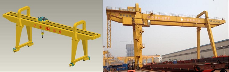 gantry cranes technical details